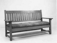 Settle by Gustav Stickley