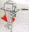 Ouboard concepts for 1958 Johnson Outboard Motors