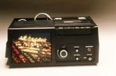 Portable microfiche viewer Dukane