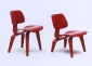 Eames Chairs LCW and DCW