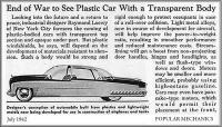 Figure 3: Post-war automobile